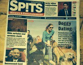 Hondenbezitters maken graag een praatje met andere hondenbezitters over... honden. Speciaal voor deze groep dierenvrienden is er nu de app DoggyDating.