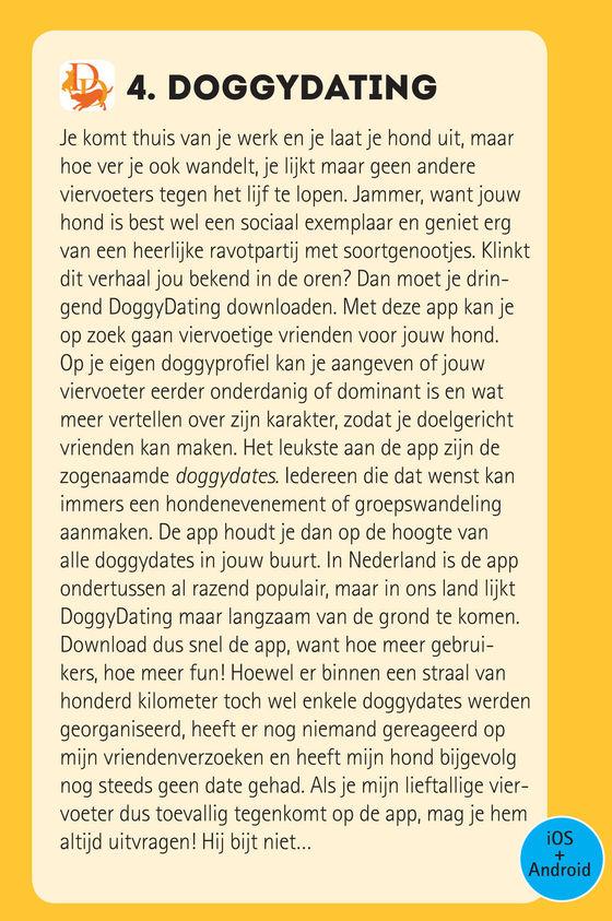 Leuk artikel over DoggyDating in het meest gelezen hondenmagazine van Belgie