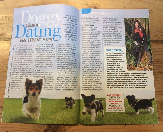 Troskompas-artikel over DoggyDating, samen een straatje om