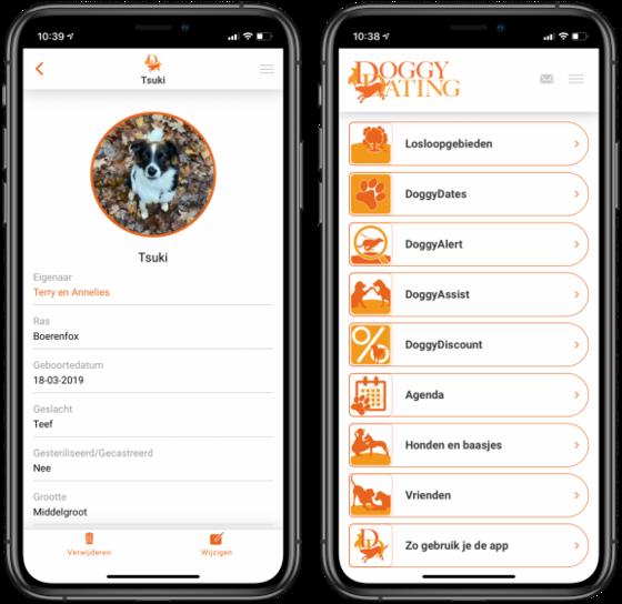 iCreate, DoggyDating: de leukste app voor honden (én hun baasjes!)