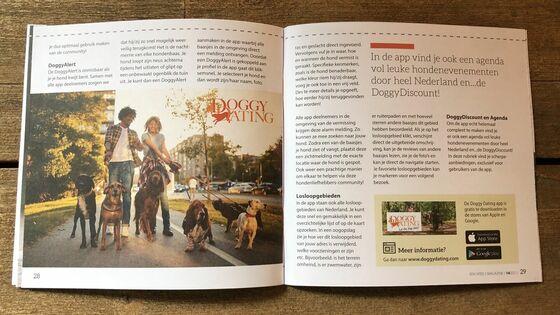 NDG magazine SPEELS, De alles-in-een DoggyDating app helpt jou het leukste baasje voor je hond te zijn!
